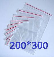 Пакет Ziplock 200x300