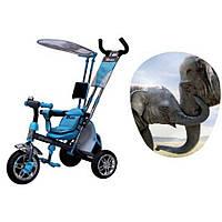 Трехколесный велосипед Azimut BC-15 An Safari голубой