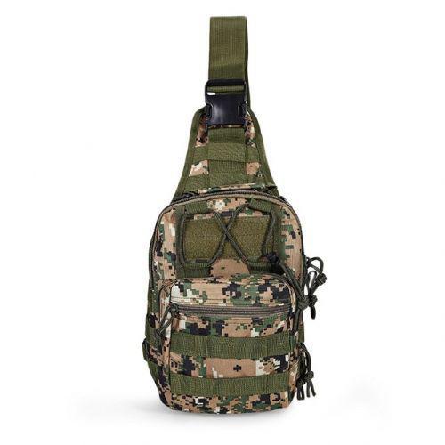 Тактическая военная сумка рюкзак OXFORD 600D Pixel Green
