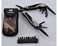 Многофункциональный нож Traveler (мультитул) с комплектом бит (9шт) MT842, 19 инструментов, туристические ножи
