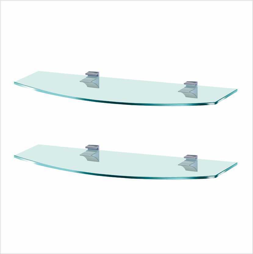 Комплект стеклянных полок Commus PL K 7R/7R/Laz (лазурный)