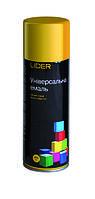 Аэрозольные эмали, грунты, лаки, краски общего применения в баллоне LIDER 9006 (Серебристый) RAL 400 мл
