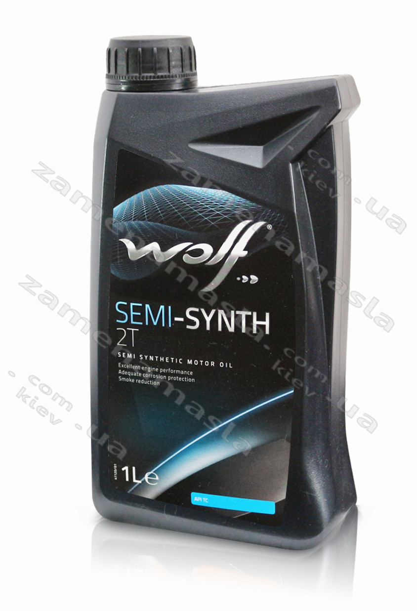 Wolf SEMI-SYNTH 2T - моторное масло