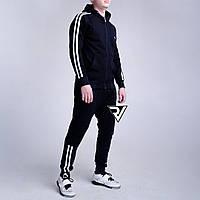 Весенний спортивный костюм для подростка Rivosh Blue white line