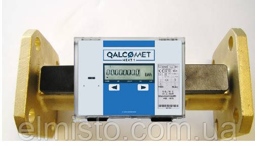 Счетчик тепла QALCOMET HEAT 1/ QSF2 25-6,0 фланец (SKS-3) Dn25 Qn 6,0
