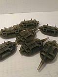 Фидерная кормушка Метод spider flat вес 50 грамм, фото 2