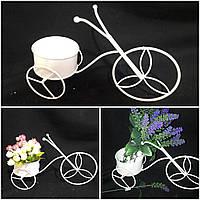 Декоративный металлический велосипед для интерьера, выс. 21 см., 210/180 (цена за 1 шт. + 30 гр.)