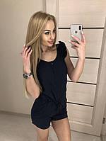 Женский комбинезон с шортами на лето
