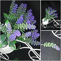 Искусственные цветы - змеевик из пластика, Польша, выс. 28 см., 15 гр.