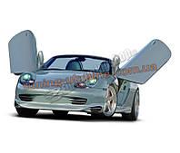 Накладки на пороги для Porsche 986 1997-2005