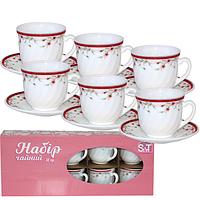 Набор чайный 12 пр Полевые цветы 190 мл SNT 30055-1248