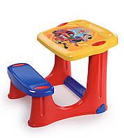 Детская парта со скамейкой Пожарный Сэм Smoby 420205, фото 1