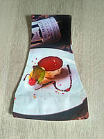Ваза складная Пироженое пластиковая с вогнутыми боками  Пироженое18х27,5 х11см