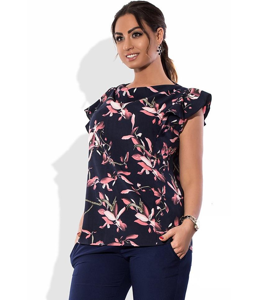 Блузка на лето размеры от XL 3076