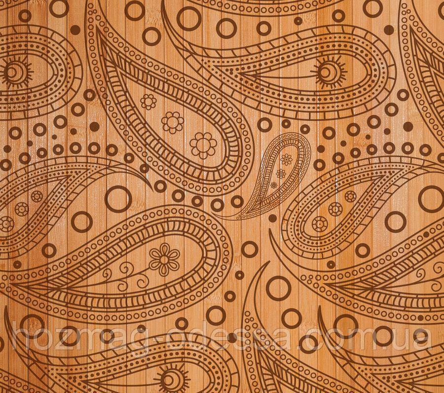 """Бамбуковые обои """"Турецкий огурец"""", ширина 150 см."""