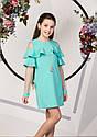 Нарядное платье с воланами на девочку подростка Размеры 134- 158, фото 3