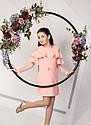 Нарядное платье с воланами на девочку подростка Размеры 134- 158, фото 7