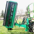 Измельчитель, мульчер  с гидравлической поворотной рамой AGF 140-220 , фото 4