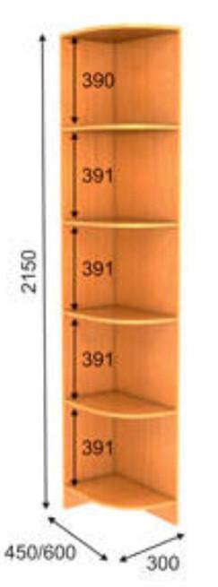Консоль К-1 Премиум 2150 мм