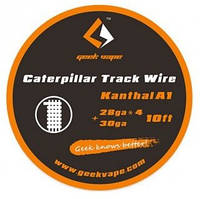 GeekVape 10ft Kanthal A1 Caterpillar Track Wire