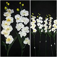 Веточки белой орхидеи, Польша, выс. 64 см., 45/35 (цена за 1 шт. + 10 гр.)