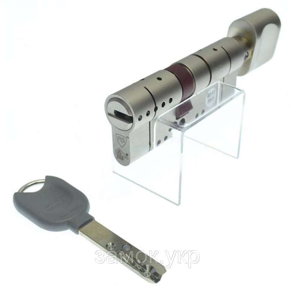 RB-LOCKS Locxis SKG 105 (70×35Т) ключ/тумблер никель (Израиль)