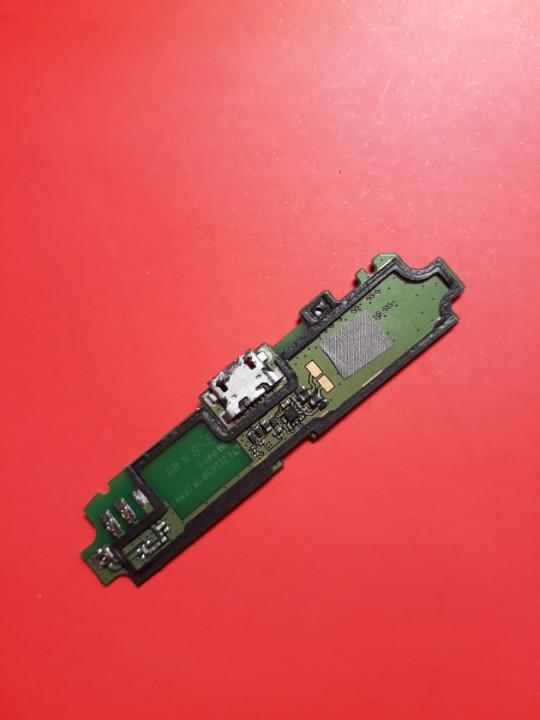 Lenovo s650 нижняя плата с компонентами микрофон антенна коннектор микро usb шлейф б/у