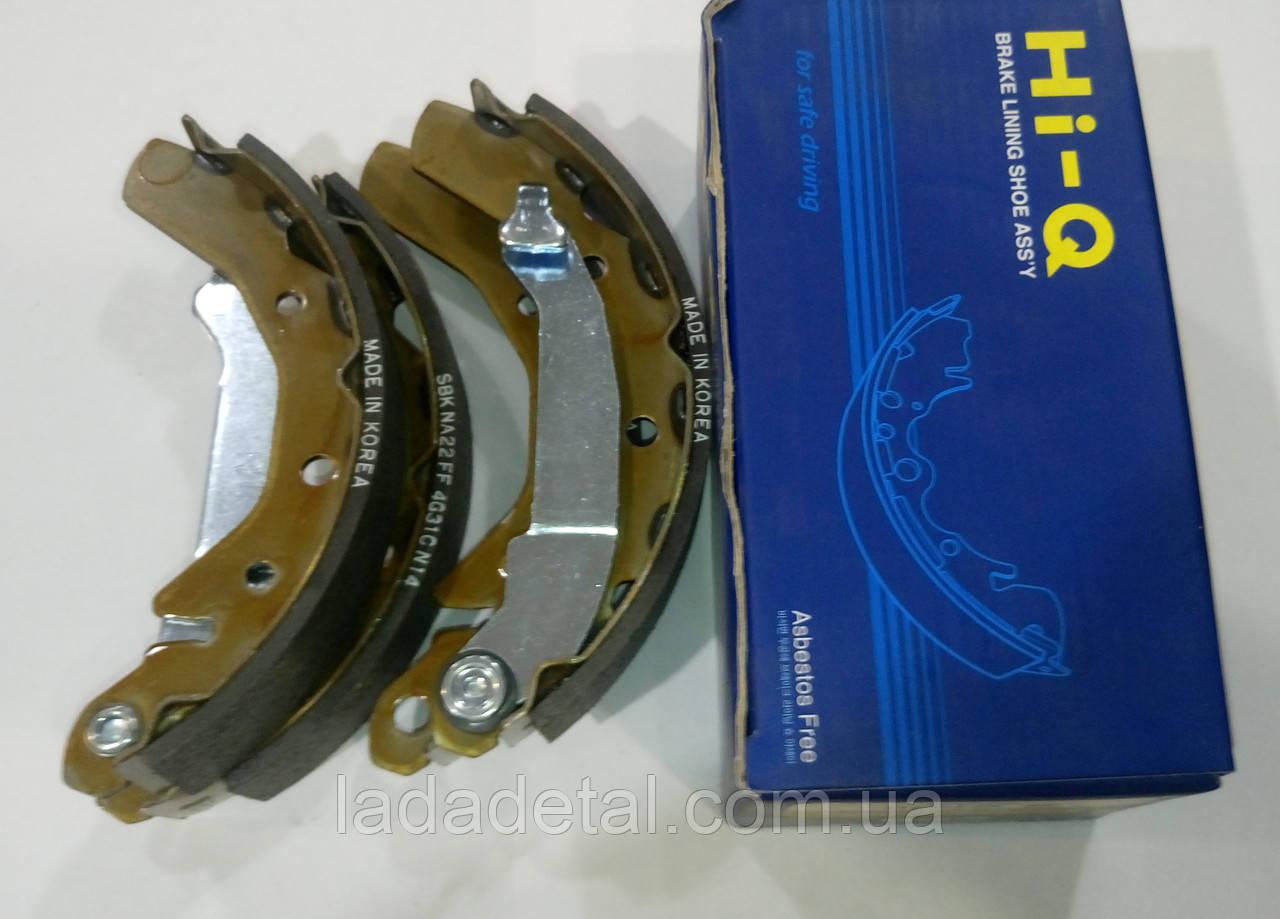 Колодки задние Матиз Matiz Hi- Q Корея SA086