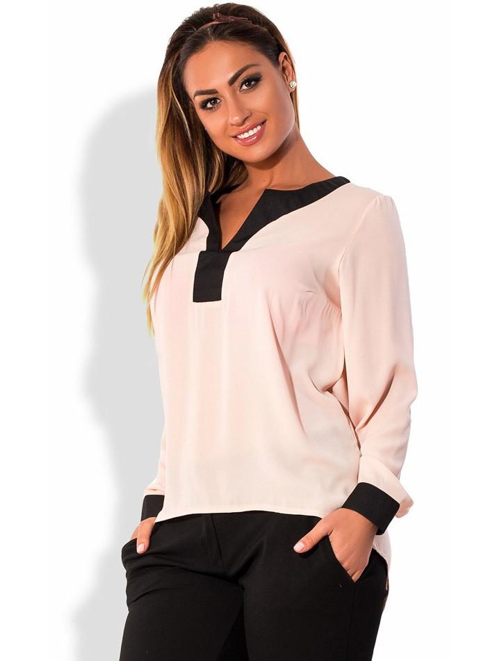 Блуза-фрак из креп-шифона размеры от XL 3088
