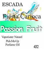 Парфюмерное масло «Fiesta Carioca Escada»