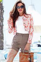 Куртка с цветами