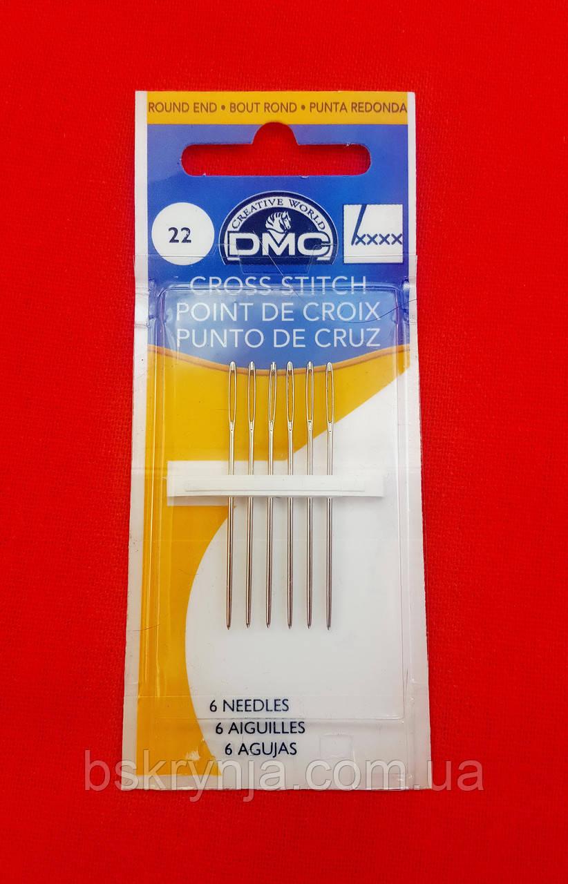 Голки вишивальні DMC №22