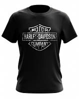 "Футболка мужская ""HARLEY DAVIDSON"" (moto-19-15)"