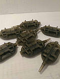 Карповая кормушка Метод spider Flat Вес 70 грамм, фото 3