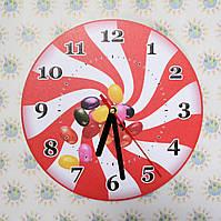 Настенные часы для кухни Конфета