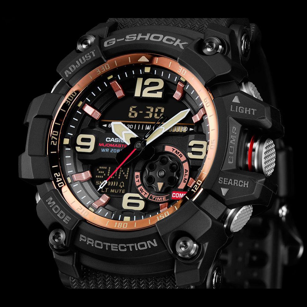 Часы Casio G-Shock GG-1000RG-1A Mudmaster B.