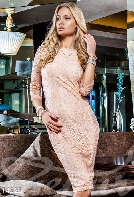 f0c93908081640a Восхитительное Гипюровое Платье — в Категории