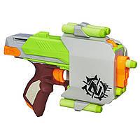 Бластер Нерф Сайдстрайк Зомби страйк Nerf Zombie Strike Sidestrike Blaster