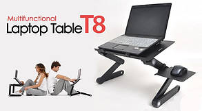 Столик трансформер для ноутбука Laptop Table T8, фото 3
