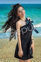 Платье с брителей и бантом