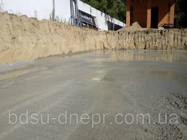 устройство подготовки из тощего бетона