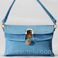 Сумка - клатч Gilda Tohetti голубой цвет