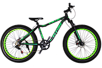 Фэтбайк велосипед Titan Stalker 26″ (FatBike) vs SUSP NEW 2018 (Black-Green)