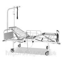 Кровать функциональная четырех секционная с двумя электроприводами КФ-4Э2