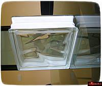 Стеклянные блоки прозрачные безцветные оптом 19х19х8 см недорого