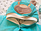 """Набір демісезонний для виписки і прогулянок """"Панда"""" м'ятний (Конверт+комбінезон з капюшоном+шапочка), фото 4"""