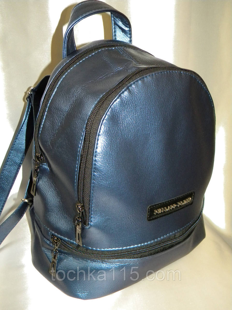 Рюкзак для девочек Philipp Plein синий реплика