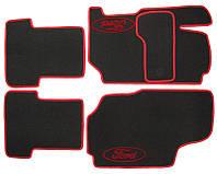 """Коврики на Ford Escort '95-02. Текстильные автоковрики. Тип """"Стандарт"""""""