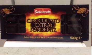 Dolciando Cioccolato extra fondente