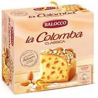 Пасхальный куличBalocco laColomba Classic с цукатами 750 г (Италия)